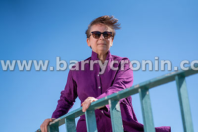 8th June, 2020. Booker prize winning author, poet and actress Anne Enright photographed in Dun Laoghaire, Dublin. Photo:Barry...