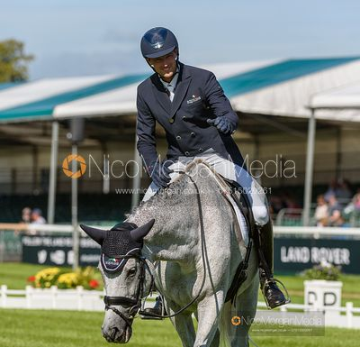 William Coleman and TIGHT LINES - Dressage - Land Rover Burghley Horse Trials 2019