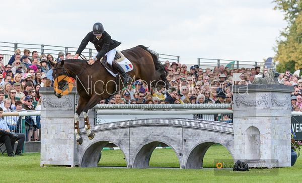 Arthur Chabert and GOLDSMITHS IMBER - Show jumping and prizes - Land Rover Burghley Horse Trials 2019