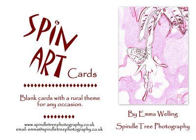 SPIN ART GREETINGS CARDS