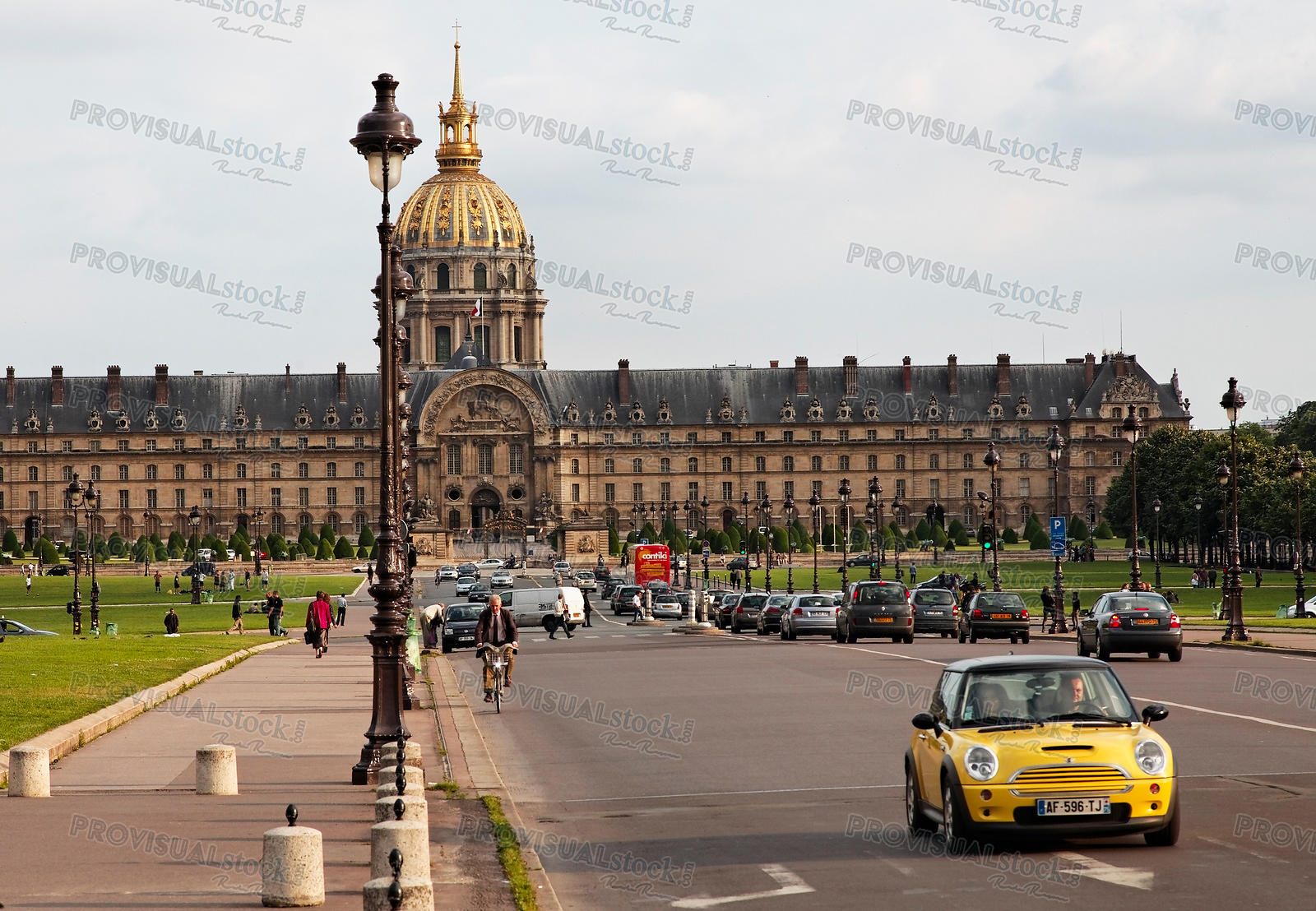 Paris-The National Residence of the Invalids