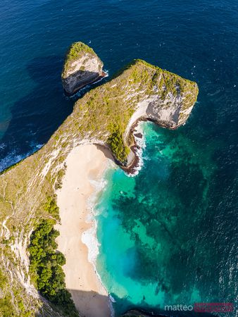 Kelingking beach (known as T-Rex beach), Nusa Penida