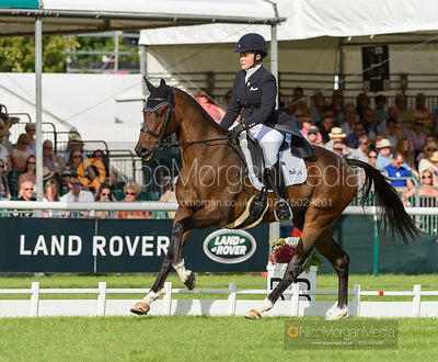 Bunnie Sexton and RISE AGAINST - Land Rover Burghley Horse Trials 2016