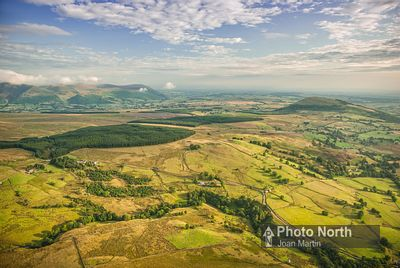 DOCKRAY 04A - Aerial view towards Great Mell Fell