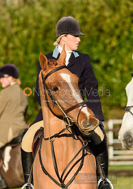 Holly Smith at the meet. The Quorn Hunt at Fox Covert Farm 10/1