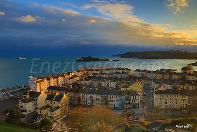 Paysage Plymouth, Angleterre