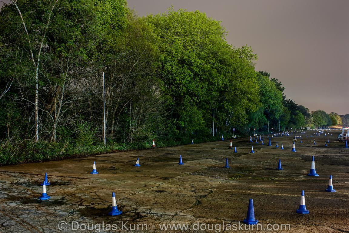 The Railway Straight, Brooklands Race Track, part of The Spirit Of Brooklands series, available as limited edition fine art G...