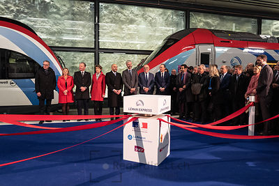 Inauguration officielle Leman Express