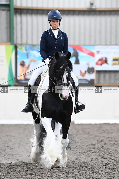 Stapleford Abbotts. United Kingdom. 12 September 2020. Dressage. MANDATORY Credit Garry Bowden/Sport in Pictures - NO UNAUTHO...