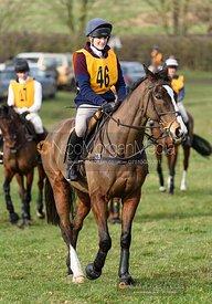 Isobel McEuen. The Melton Hunt Club Ride 17/2