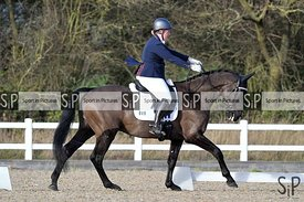 British dressage. Brook Farm Training Centre. Essex. UK. 13/01/2019. ~ MANDATORY Credit Garry Bowden/Sportinpictures - NO UNA...