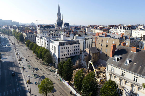 photo immobilier drone Nantes