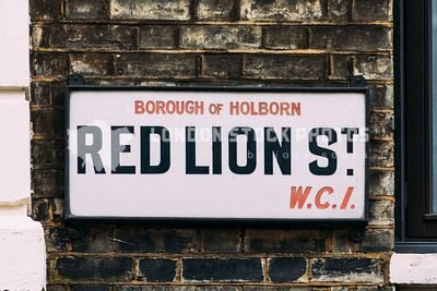 London WC1, Borough of Holborn