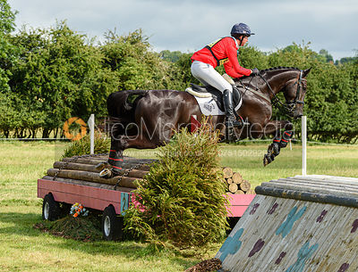 David Doel and GALILEO NIEUWMOED - Aston Le Walls Horse Trials 2019.