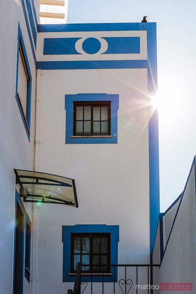 Typical portuguese architecture, Ferragudo, Portugal