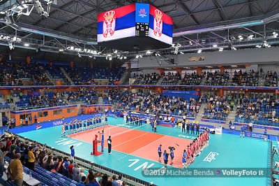 ITALY vs SERBJA - VNL / Volleyball Nations League 2019 Men's - Pool 14, Week 4.