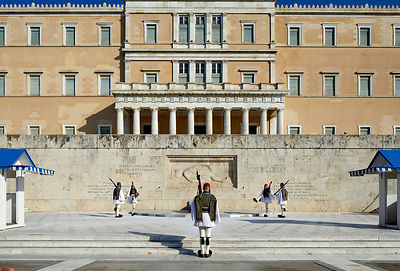 Greece Parliament guard