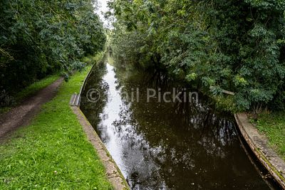 Below the locks on the Montgomery Canal in Shropshire UK