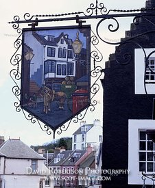 Image - The Ferry Tap Inn pub sign, South Queensferry