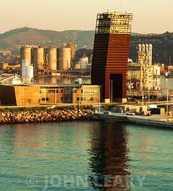 Barcelona Port View.