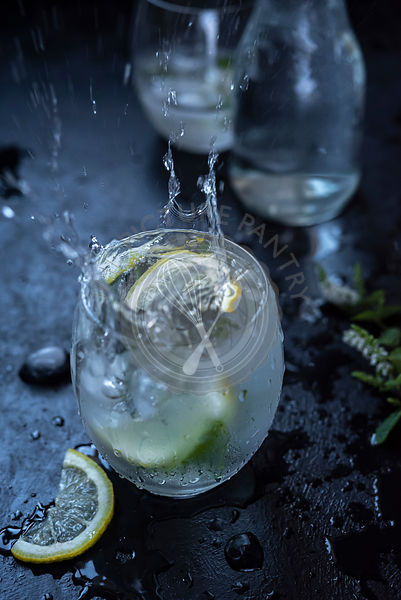 Lemon Mint Iced Water Splash