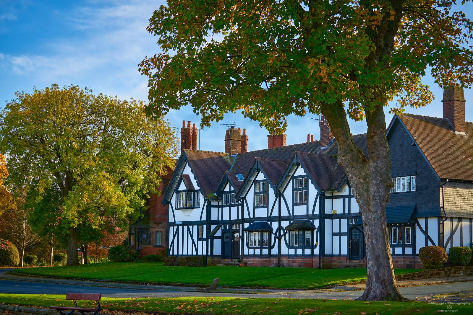 A Late Autumn Afternoon in Port Sunlight Village