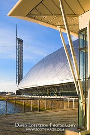 Image - Glasgow Science Centre, Glasgow Tower, Scotland.