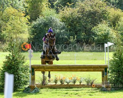 Hayley Vowels and GREENVALE DELICIA - Cornbury House Horse Trials 2020