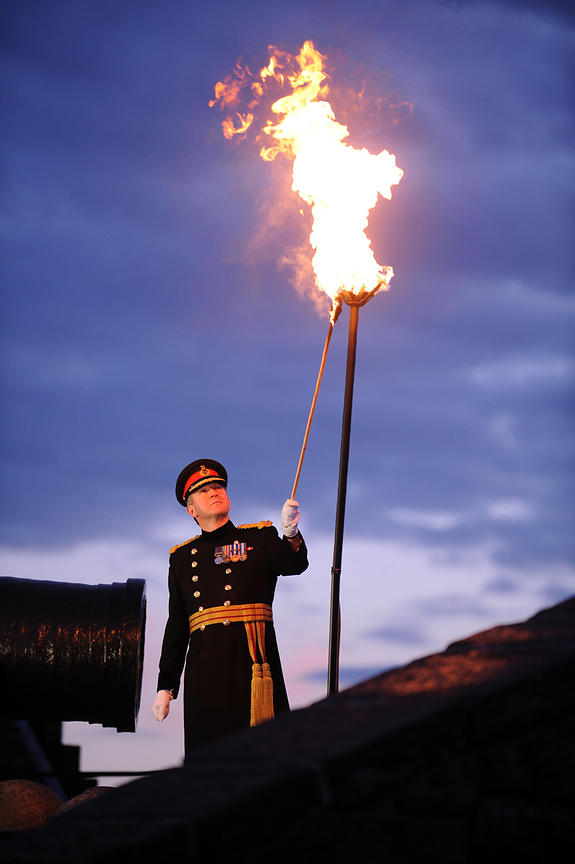 Jubilee Beacon at Edinburgh Castle
