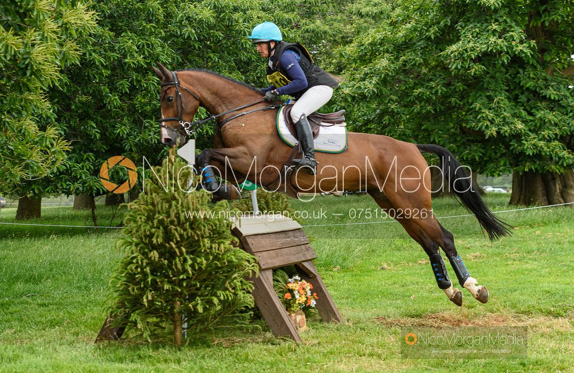 Selina Milnes and VIVENDI TIME - Upton House Horse Trials 2019.