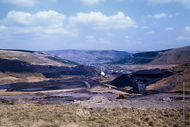 #5614,  Colliery spoil tip, Wales.