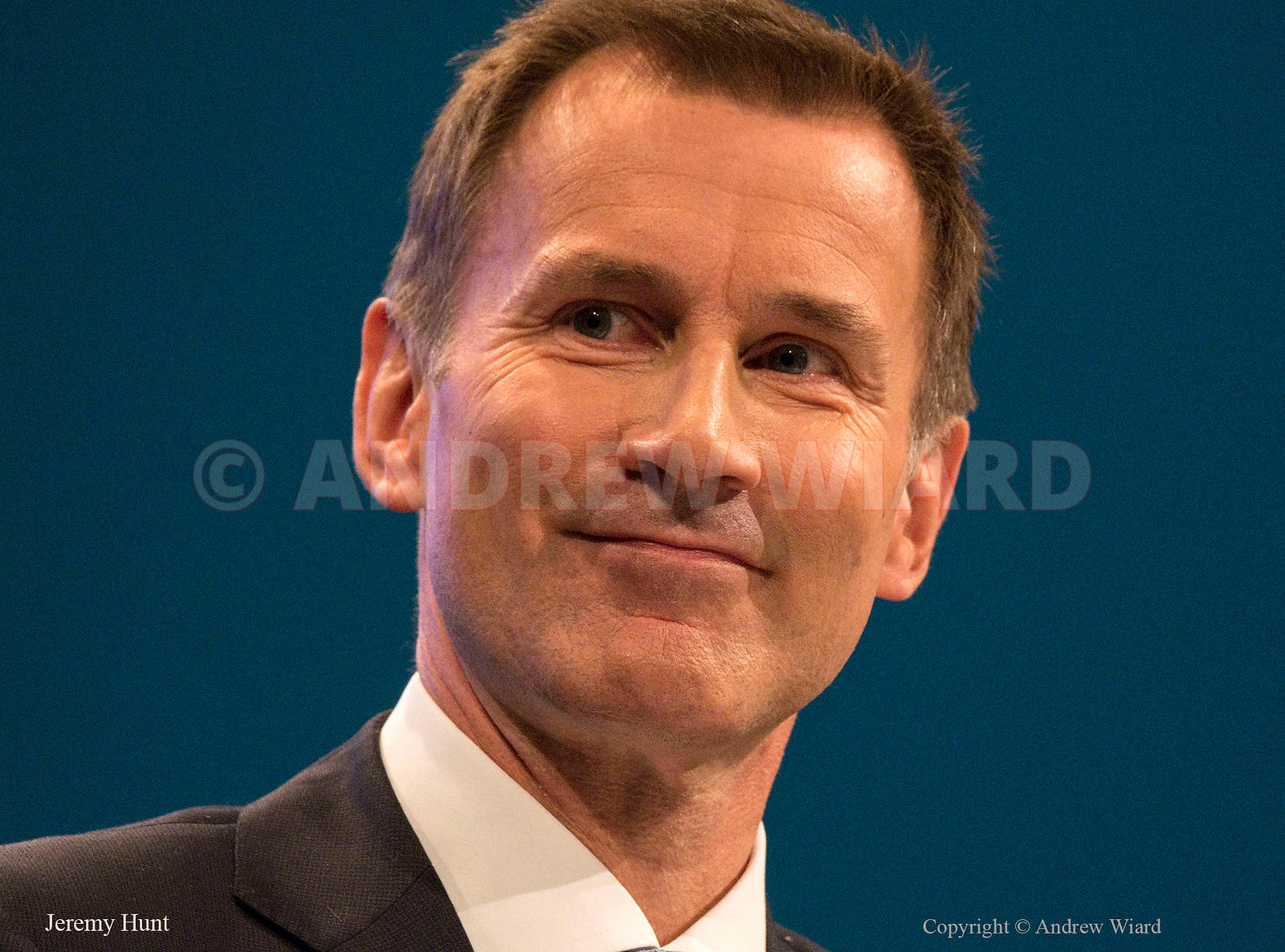 England, UK . 3.10.2017. Manchester . Conservative Party Conference, Tuesday. Jeremy Hunt.