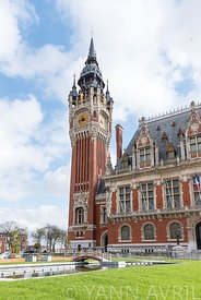 City hall of Calais, France