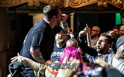 Comeback Kid performing at the O2 Academy Bournemouth 23.11.19