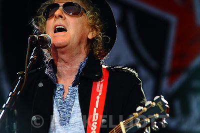 Ian Hunter performing live 25 July 2010