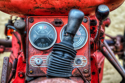 Tractor Console
