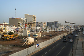 Construction work, Dakar
