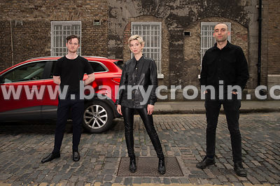 30th May, 2019.The band Standing beside cars (only joking Eileen) Soda Blonde consisting of Adam O'Regan, Faye O'Rourke (Lead...