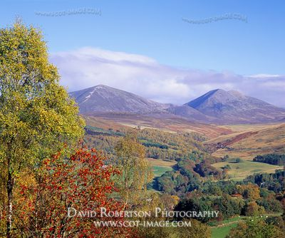 Image - View from Tenandry across Kiiliecrankie to Beinn a' Ghlo, Perthshire
