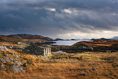 Derelict crofter's cottage Isle of Harris