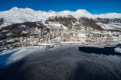 Engadin St. Moritz from the Sky
