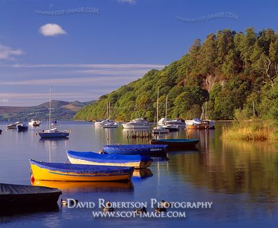 Image - Loch Lomond at Balmaha boatyard, View to Inchcailloch