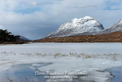 Image - Liathach and Loch Clair, Torridon, Scotland, Winter