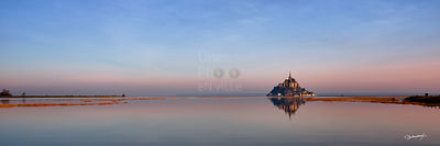 Panorama du Mont-Saint-Michel
