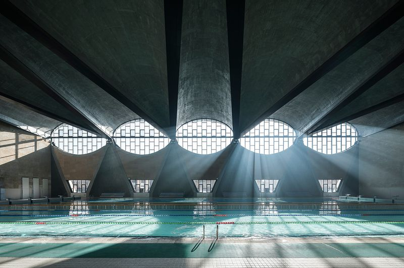 APA 2017 Overall winner: Swimming Pool, New Campus of Tianjin University, China by Atelier Li Xinggang ©Terrence Zhang
