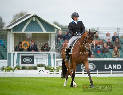 Simon Grieve and THE RUTMAN - Dressage - Land Rover Burghley Horse Trials 2019