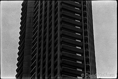Barbican 1975 Photographs from around Brunswick Centre, London Wall and Barbican.