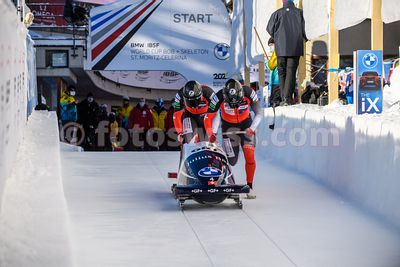 Bobsleigh World Cup 2021 - Olympia Bob Run St.Moritz