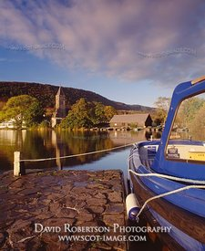 Image - Lake of Menteith, Port of Menteith, Scotland