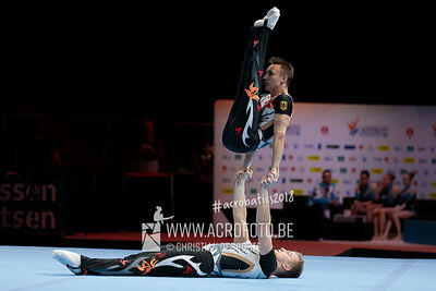 WCH Men's Pair Qualification Germany - Balance